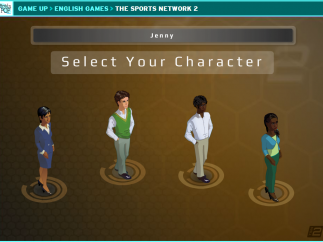 There are four avatars to choose from, a minor attempt at diversity.
