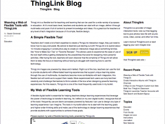The blog is a great go-to when you're confused or stuck.