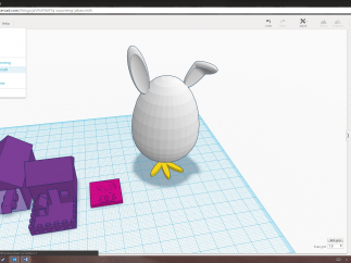 Export options include ordering a 3D print or sending a design to Minecraft!