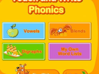 Improve phonics and letter writing through lessons and practice.