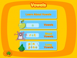 Subsections within the three main lessons focus on specific letter sounds.