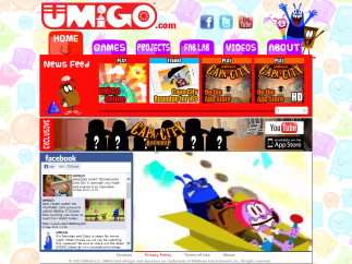UMIGO is an interactive early elementary math website.