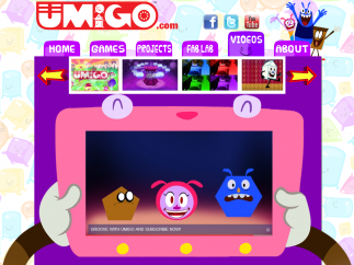 Music videos include animations and songs to teach kids about shapes and other math topics.
