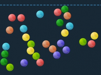 Tap the screen to make objects appear, modeling multiplication as repeated addition.