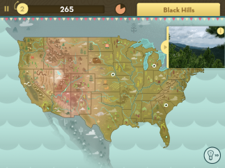 Maps and beautiful photos add visual life to geography facts.