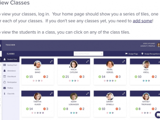 Easily access students and assign student-specific flags.