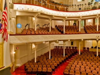 Users can take a virtual tour of the Theatre.