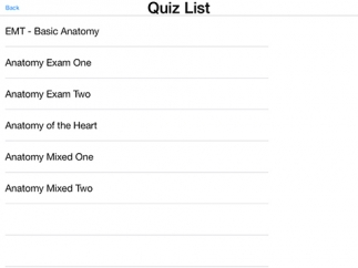 Quizzes to assess learning have some grammatical errors.