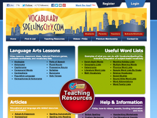 Teachers can also access dozens of classroom resources on the site.