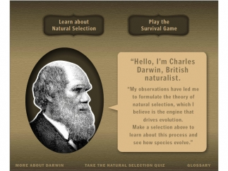 Charles Darwin himself gives instruction on how to play.