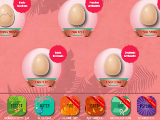 Meings hatch as players proceed through levels.