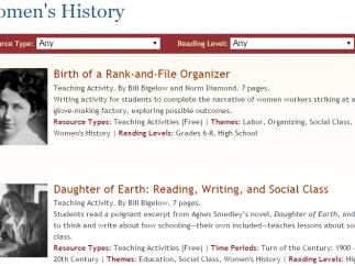 Use this collection of resources to examine the history of women in America.