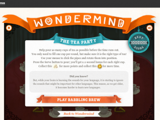 Games include an introduction with information on the concept they illustrate.