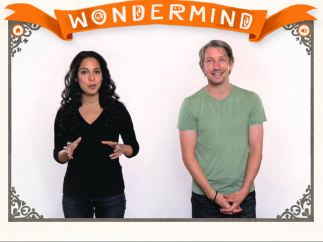 Cheerful, supportive narrators explain key concepts in videos.