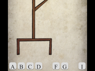 Hangman is classic fun, but the cartoon victim is haunting.