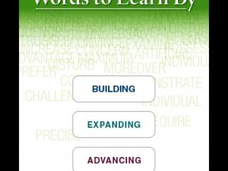 Three levels of word lists include 100 words each.