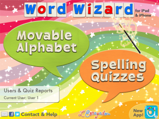 Use an open spelling board, take pre-made quizzes, or make your own.