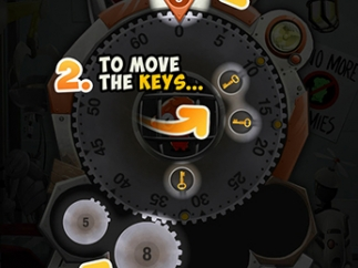Kids can get a brief overview of gameplay by tapping the question mark icon.