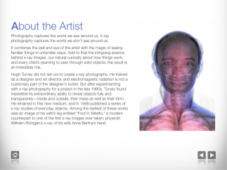 Learn about the app's photographer, including his insides!