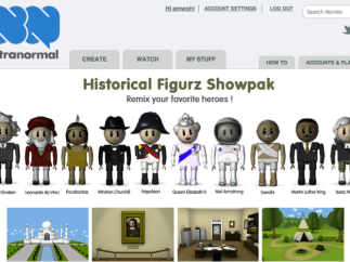 Themed sets, such as Historical Figurz, guide kids through the experience, turning what could be a complicated process into a fairly simple one.