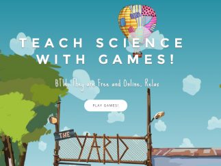The Yard Games was set up to conceive, design, and test science games for students.