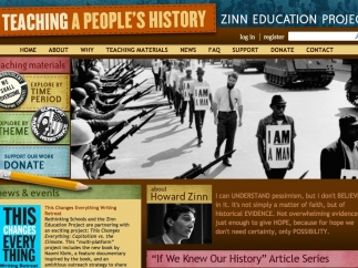 Chock full of teacher resources, the site's also likely to appeal to students.