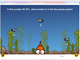 Questions can be added to games.