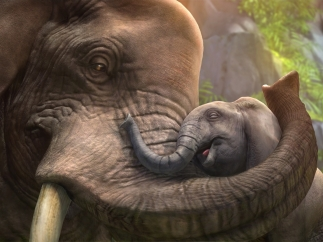 Zoo Tycoon's animals are so lifelike players will want to reach into the game and pet them.