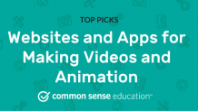 Websites and Apps for Making Videos and Animation