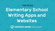 Elementary School Writing Apps and Websites