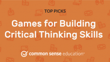 Games for Building Critical Thinking Skills