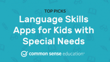 Language Skills Apps for Kids with Special Needs