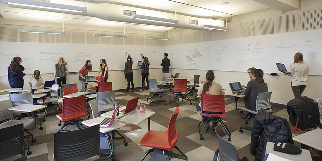 ellis hall active learning classroom