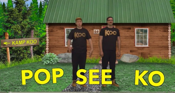 "GoNoodle video song ""Pop See Ko"""