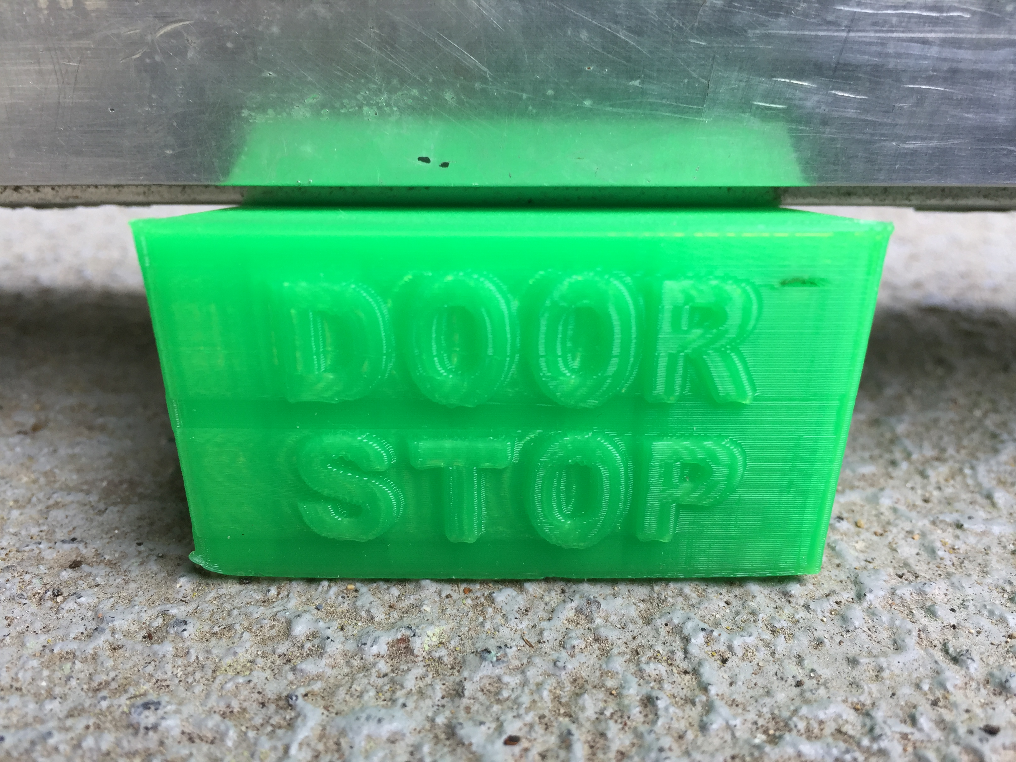 door stop made with 3D printer
