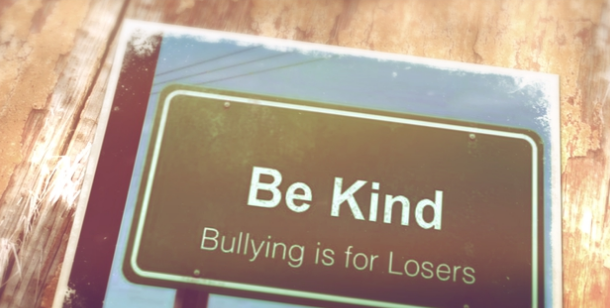 animoto picture about cyberbullying created by Scarlett Middle School's eighth graders