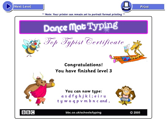 Dance Mat Typing Educator Review