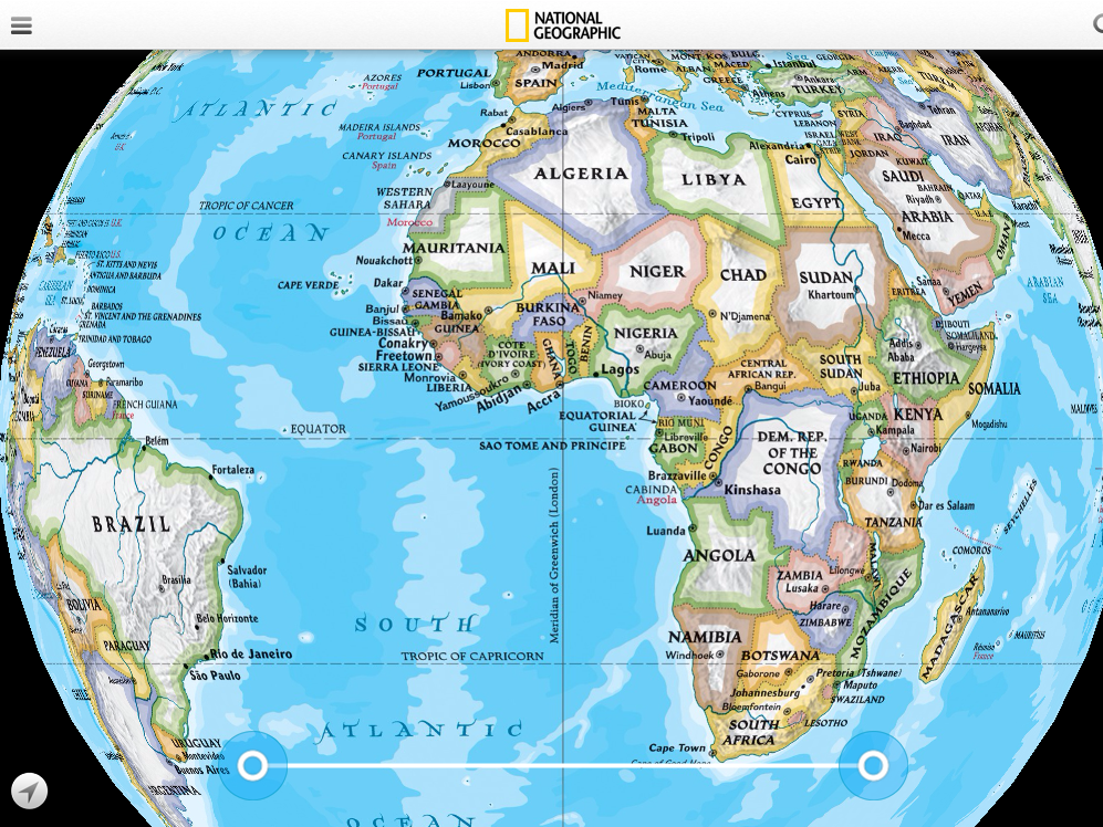 Interactive Map App Offers The World Tech Learning - World interactive map